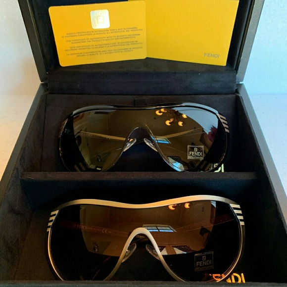 9ef67cfeff86 2 Fendi Sunglasses (Set of 2 different colors) 57S